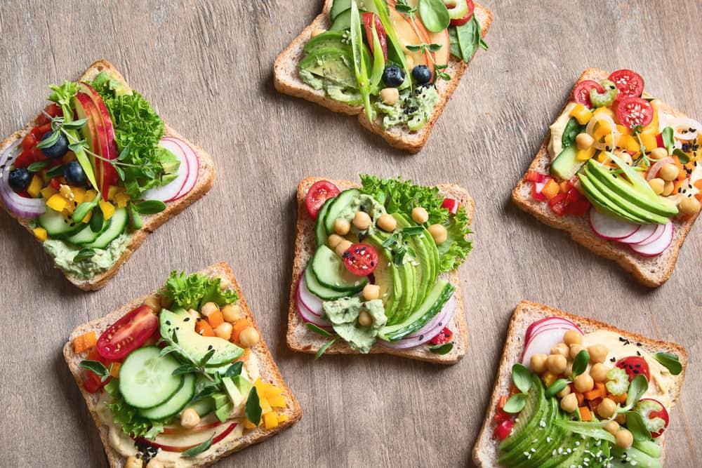 wow its veggie toast