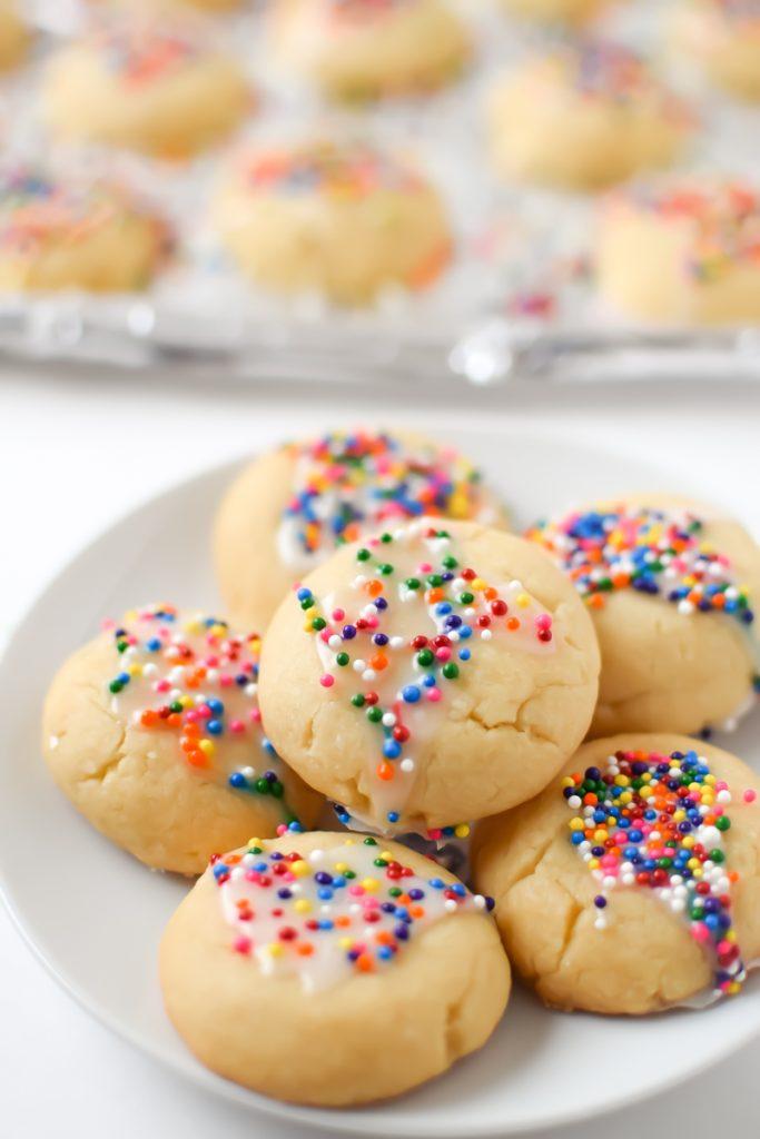 traditional italian vegan christmas cookies for the holidays