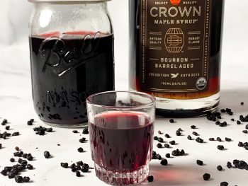 vegan elderberry syrup recipe
