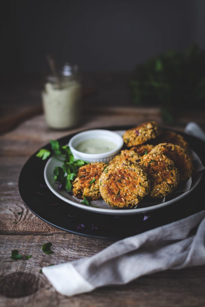 falafel is one of the best vegan recipes for kids
