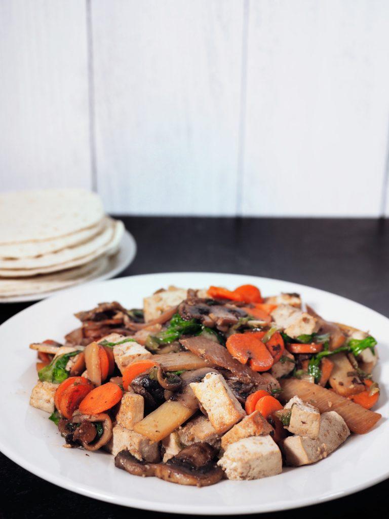 Easy moo shu vegetables recipe