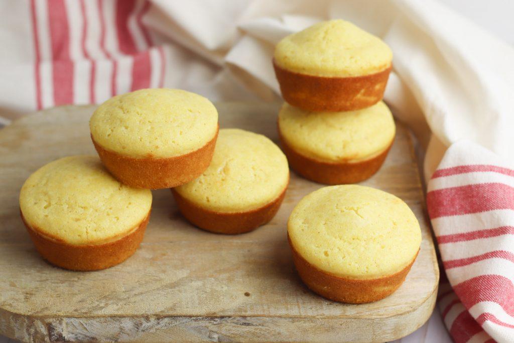 close-up photo of gluten free cornbread recipe