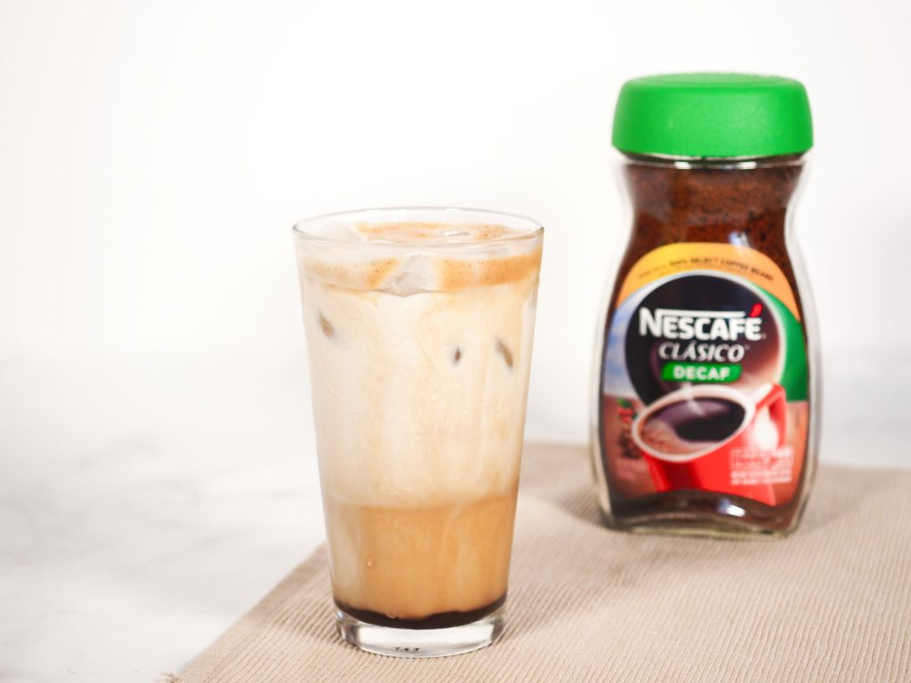 greek frappe with Nescafe coffee