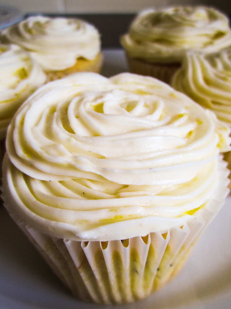 lemon flavored vegan buttercream frosting