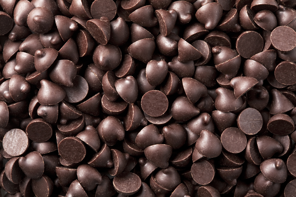 close up photo of chocolate chips