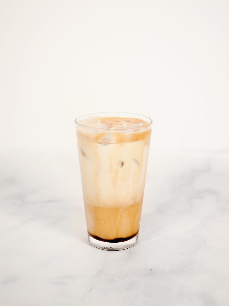 Photo of a Greek frappe which is the perfect beverage for your Mother's Day brunch.