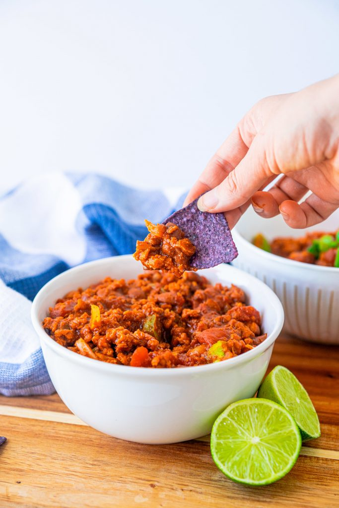 vegan chili is one of the best fall recipes for vegans