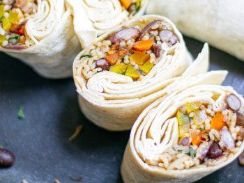 easy vegan burrito recipe