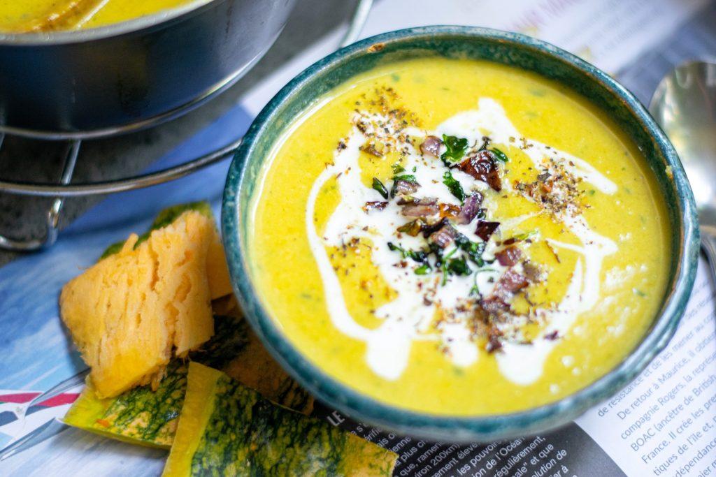 vegan pumpkin soup without coconut milk