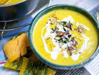 Easy And Delicious Vegan Pumpkin Soup Recipe