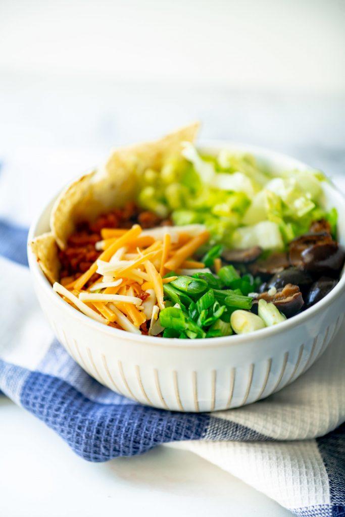 vegan mexican bowl ingredients