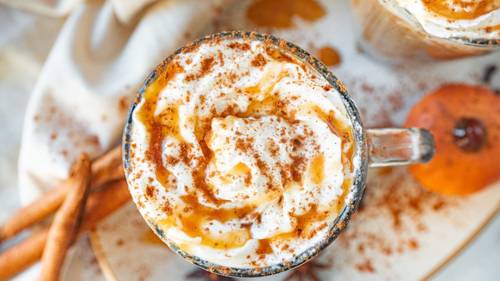 cozy vegan pumpkin spice latte is one of the best vegan fall recipes