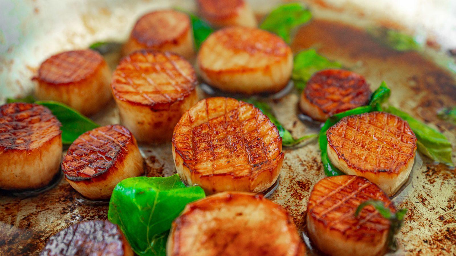 vegan scallops in lemon garlic butter