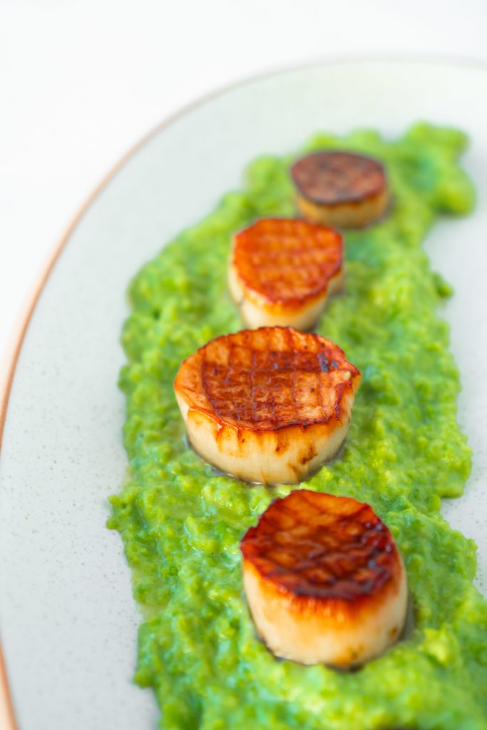 Photo of Vegan Scallops In Lemon Garlic Butter