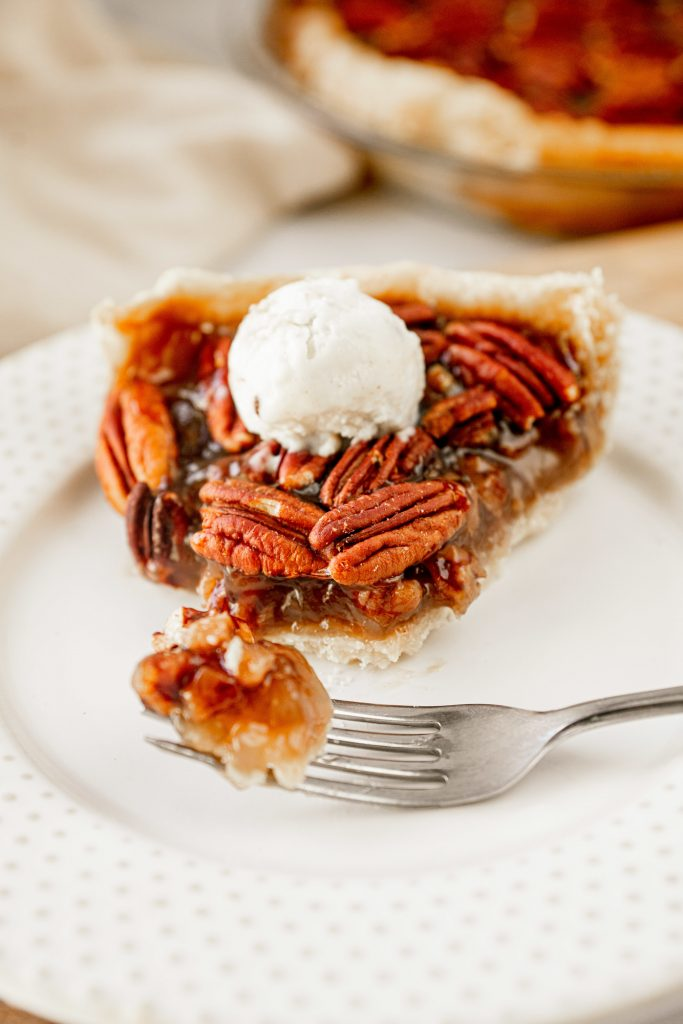 pecan pie is the perfect vegan fall recipe