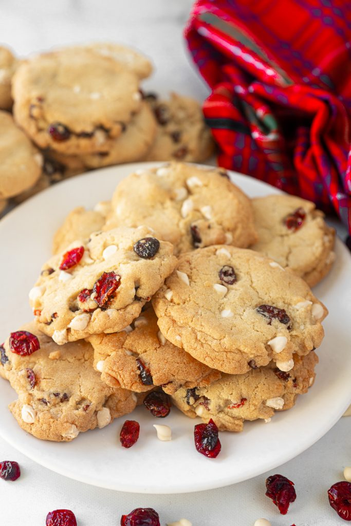 Photo of 20-Minute Vegan White Chocolate Cranberry Cookies