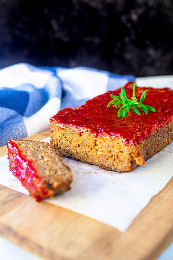 Photo of Classic Homestyle Vegan Meatloaf.