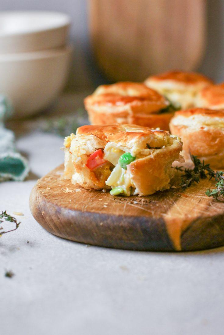 individual vegan pot pie recipe