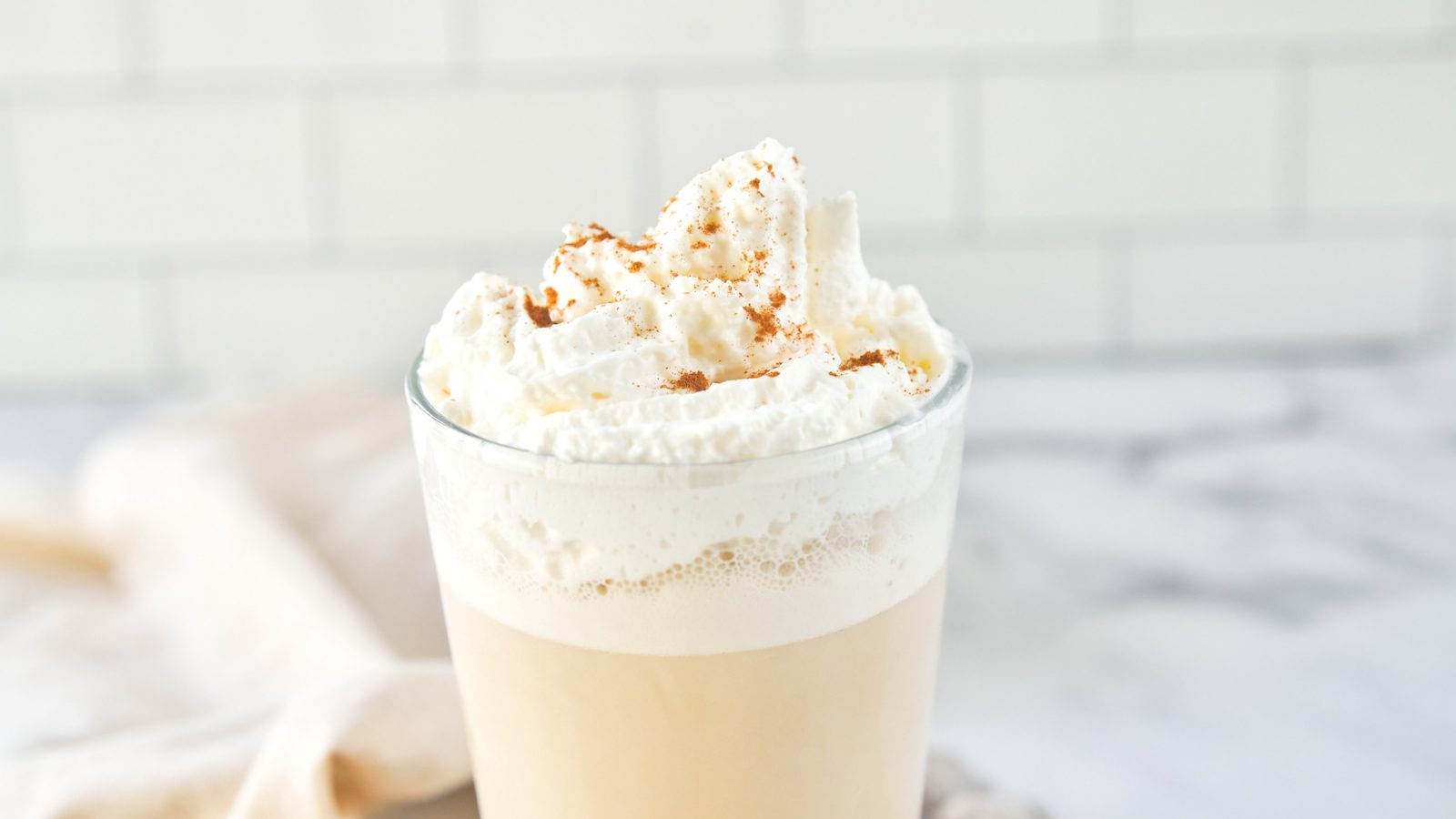 vegan chai frappuccino that is a Starbucks copycat recipe