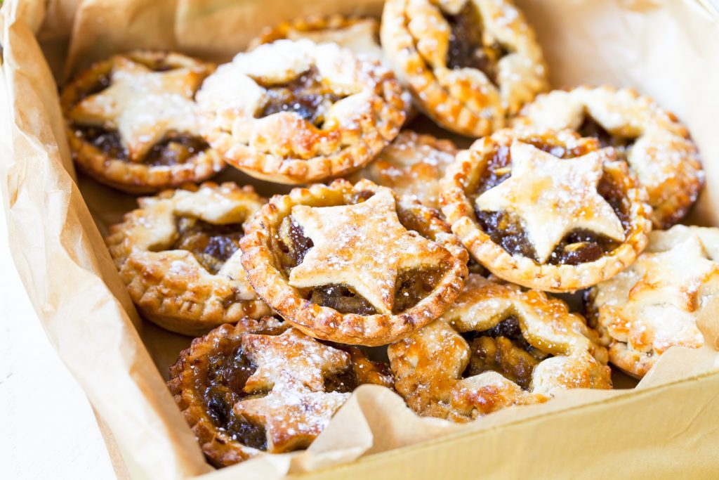 storing vegan mince pies
